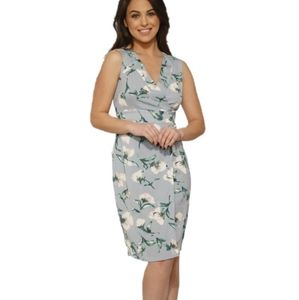 Hearts and Roses Floral Wrap Dress
